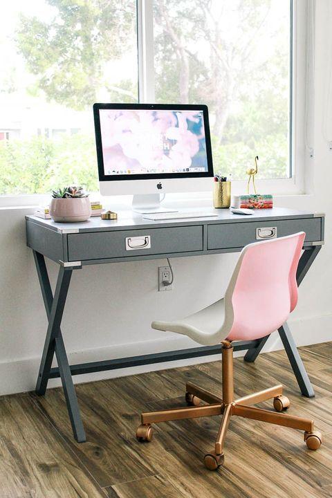 ایده های طراحی اتاق کار در منزل - استفاده از نشیمن مناسب