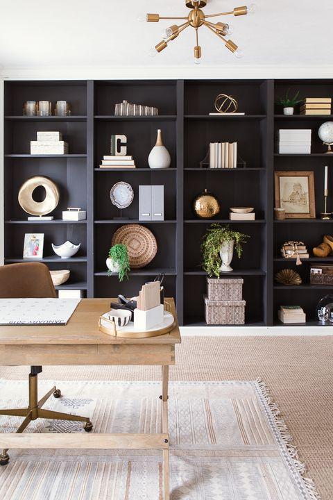 ایده های طراحی اتاق کار در منزل - طراحی مدرن اتاق کار